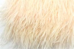 Перо страуса на ленте, Light Peach