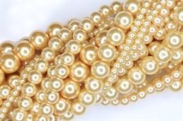 Жемчуг EXTRA 12-4 мм, Светлое золото