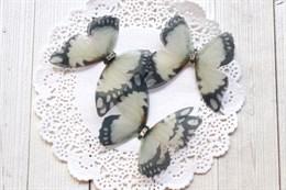Пришивные крылья бабочки 4,5 см (№28)