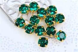 #1122 Chatone 8 мм Emerald