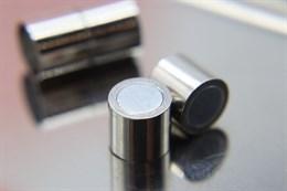 Магнитный концевик 10 мм, Silver