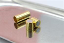 Магнитный концевик 8 мм, Gold