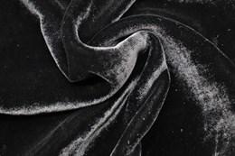 Шелковый бархат, Черный