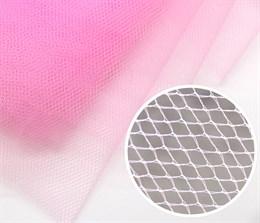 Жесткий фатин для вышивки, Pink