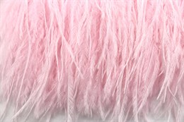Перо страуса на ленте, Pink